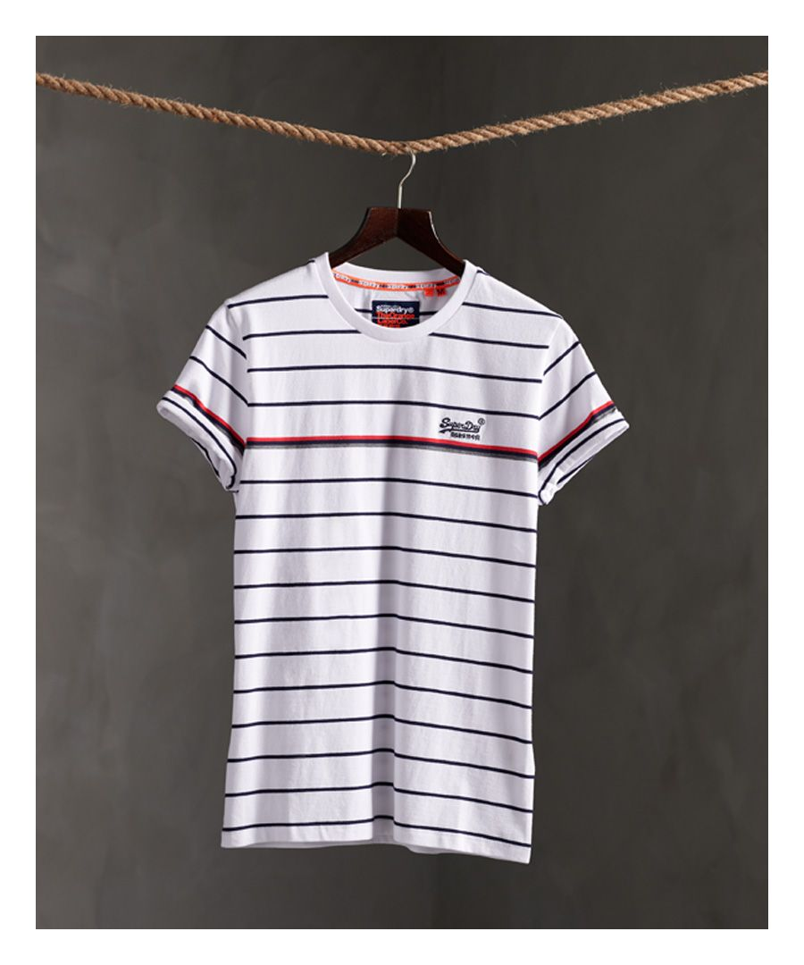 Image for Superdry Organic Cotton Breton Stripe T-Shirt