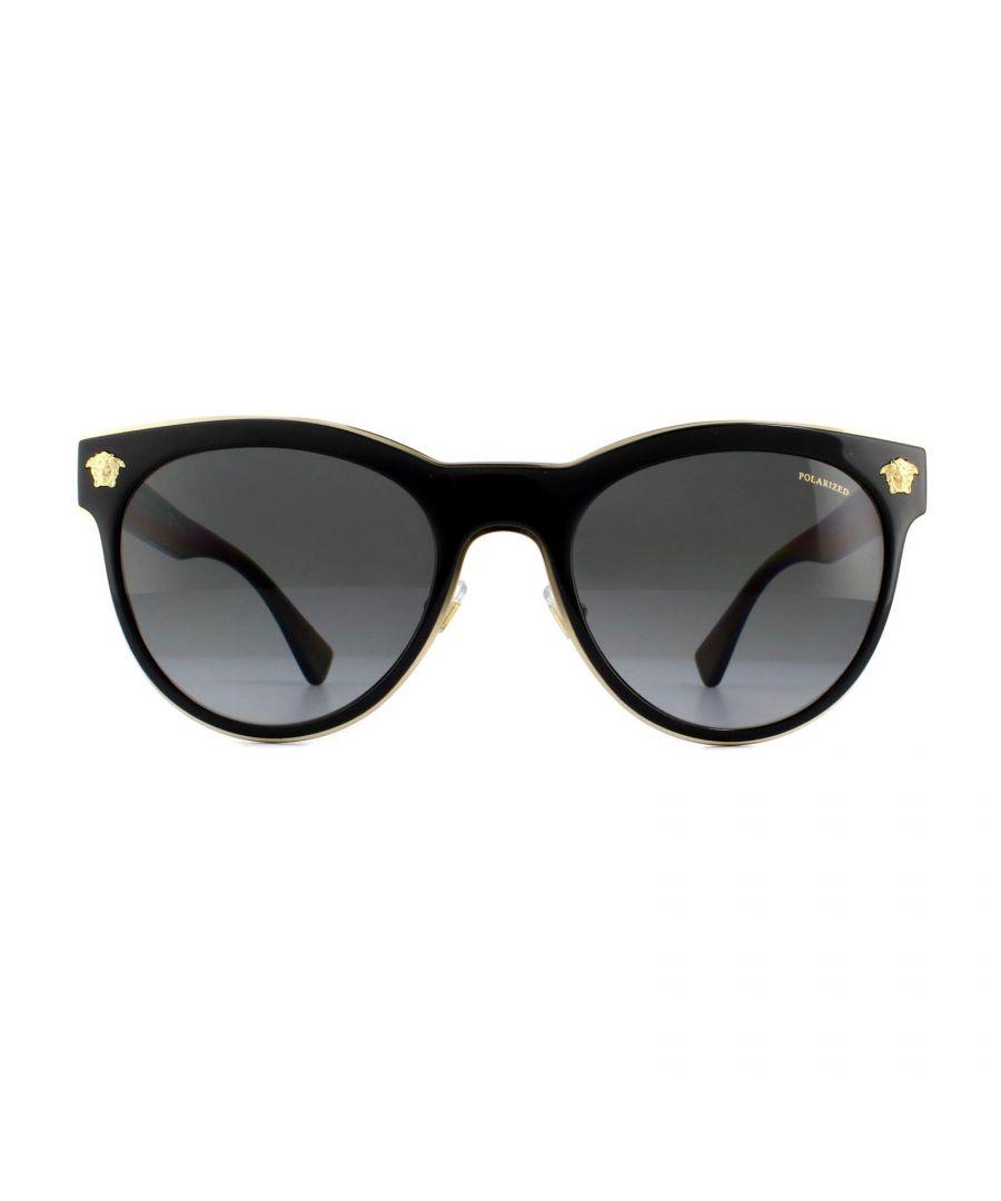 Image for Versace Sunglasses VE2198 1002T3 Black Grey