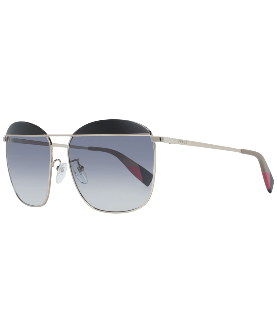 Image for Furla Sunglasses SFU237 0492 59 Women Rose Gold