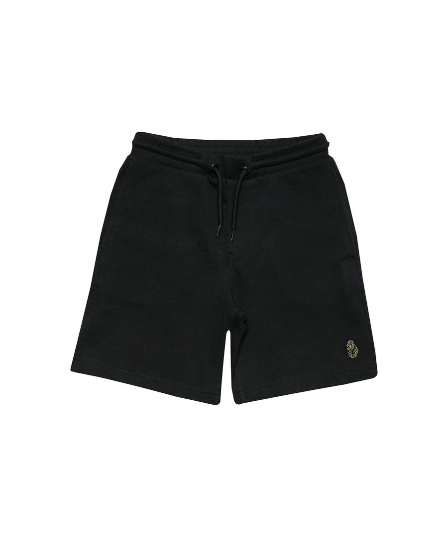 Image for Boys' Luke 1977 Junior Get Shorty Jog Shorts in Black