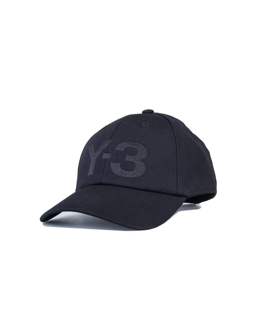 Image for Accessories Y-3 Logo Cap in Black