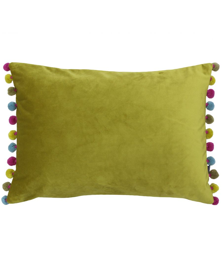 Image for Fiesta Poly Cushion 35X50 Bam/Mul