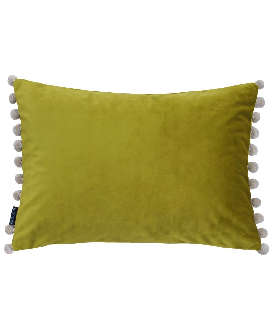 Image for Fiesta Poly Cushion 35X50 Bam/Nat