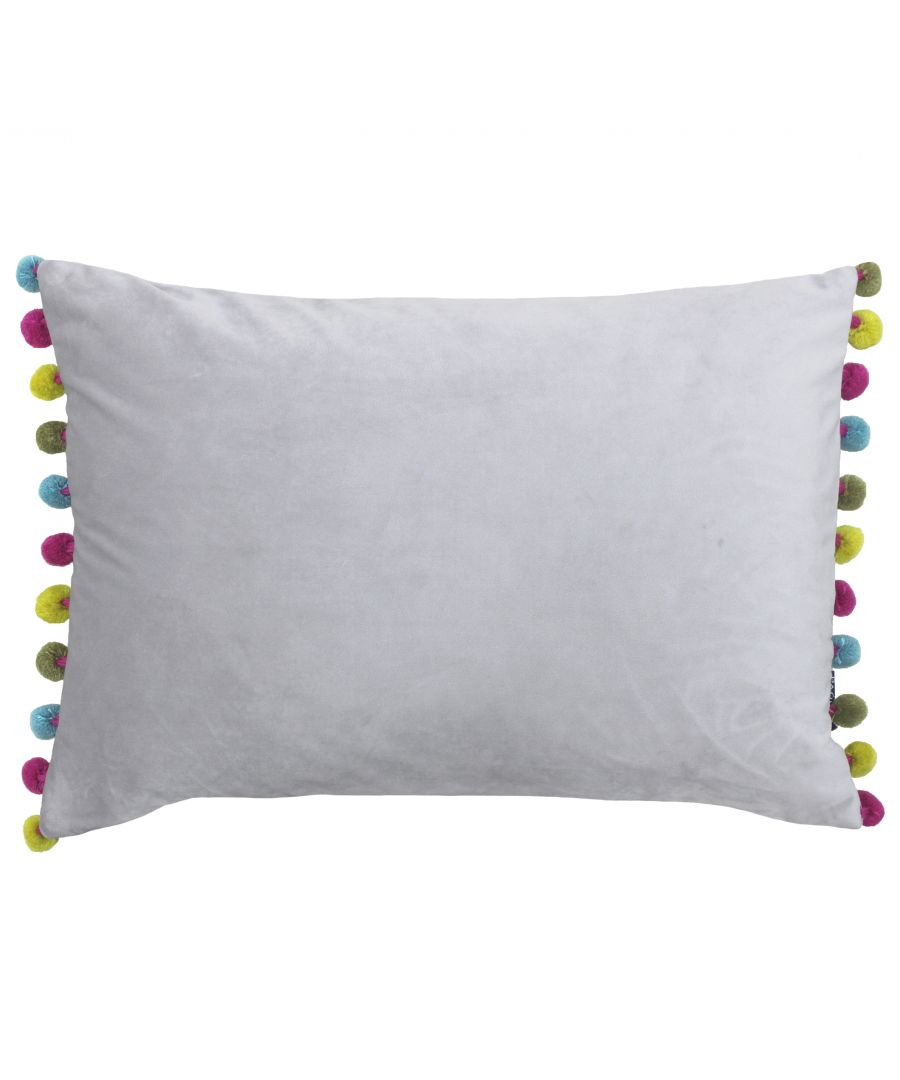 Image for Fiesta Poly Cushion 35X50 Dove/Mult