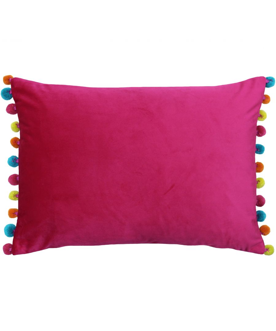 Image for Fiesta Poly Cushion 35X50 Hpnk/Mul