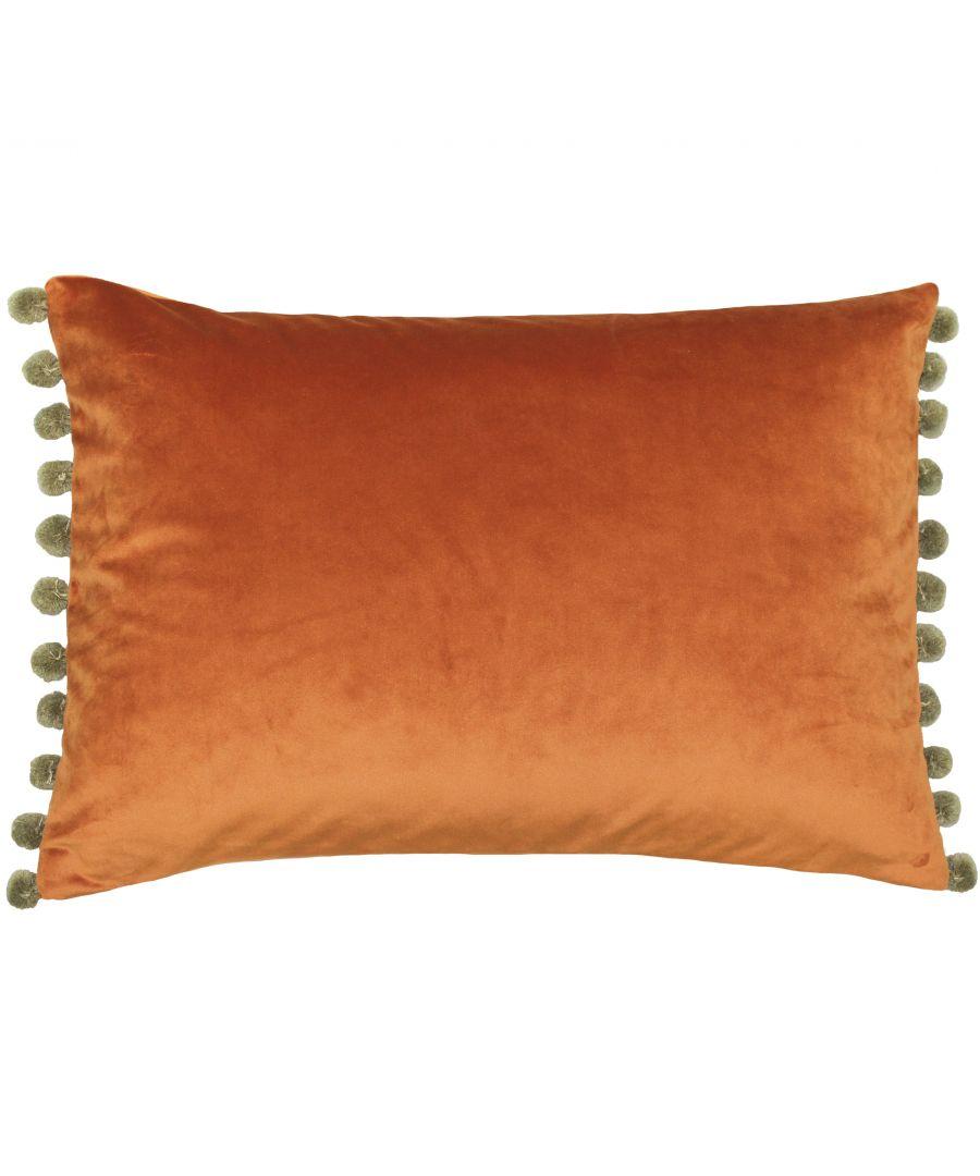 Image for Fiesta Poly Cushion 35X50 Rus/Kha