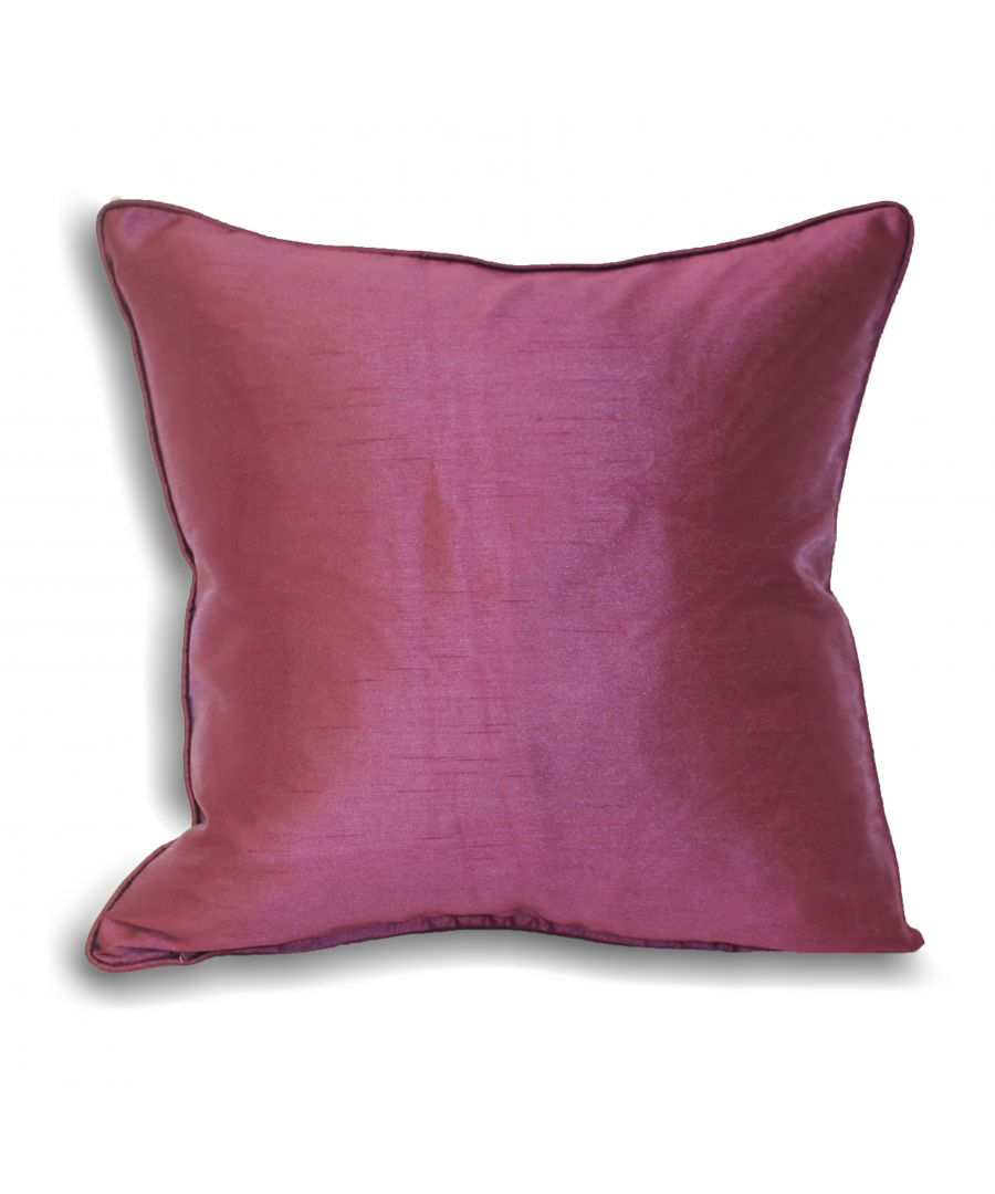 Image for Fiji Poly Cushion 43X43 Aubergine