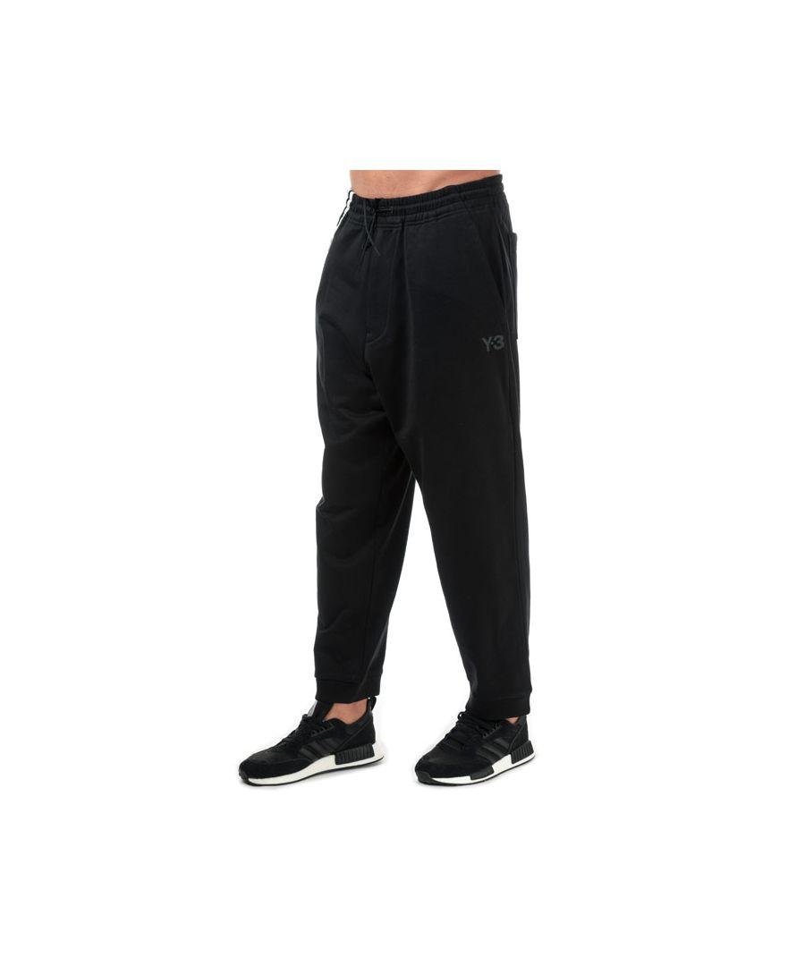 Image for Men's Y-3 3-Stripes Cuff Jog Pants in Black