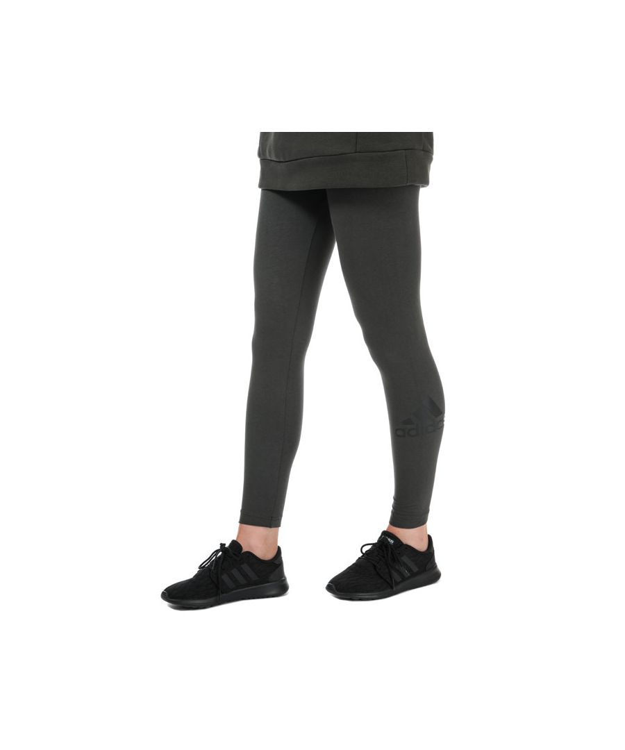 Image for Women's adidas Must Haves Badge Of Sport Leggings in olive