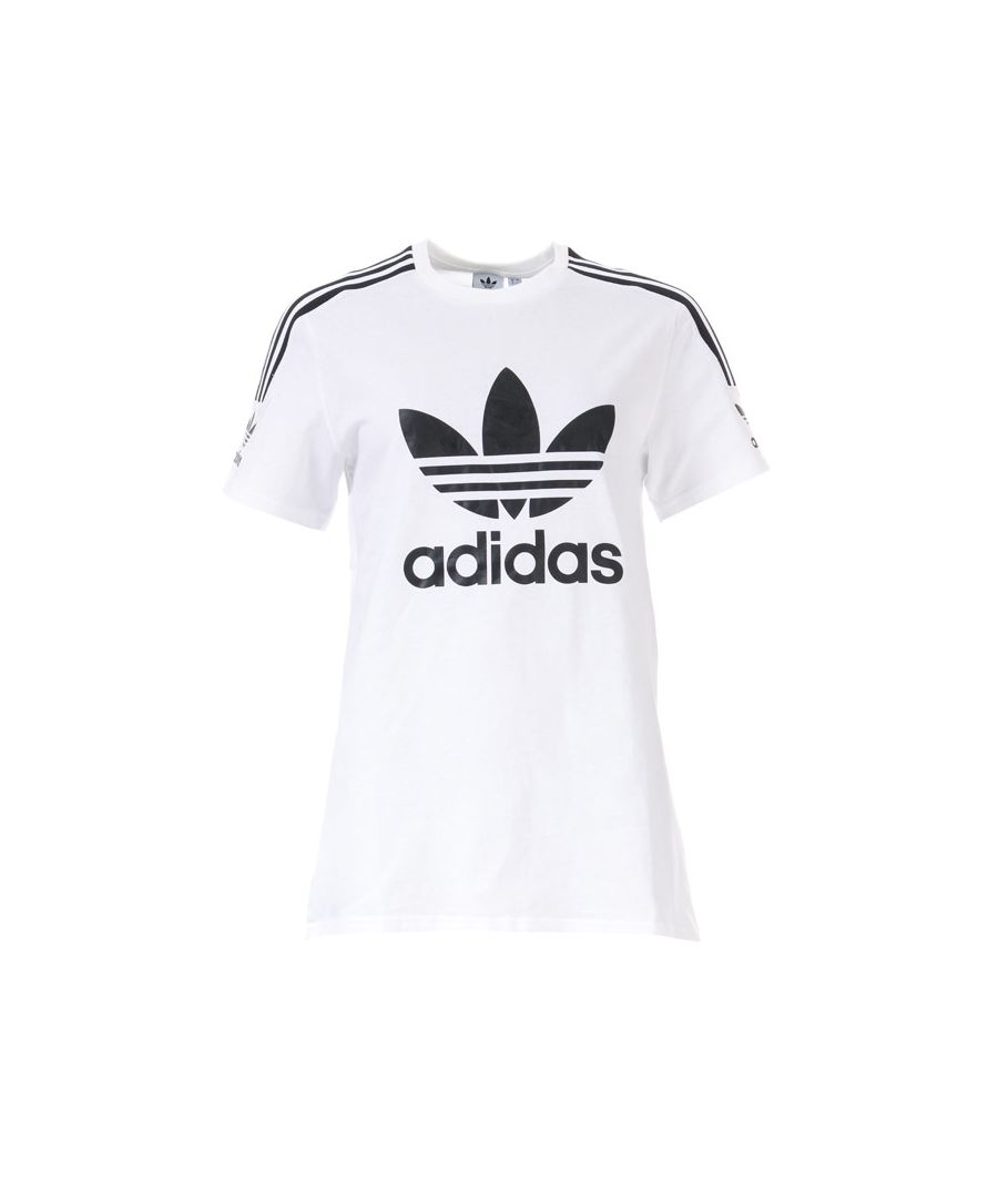 Image for Women's adidas Originals Lock Up T-Shirt in White