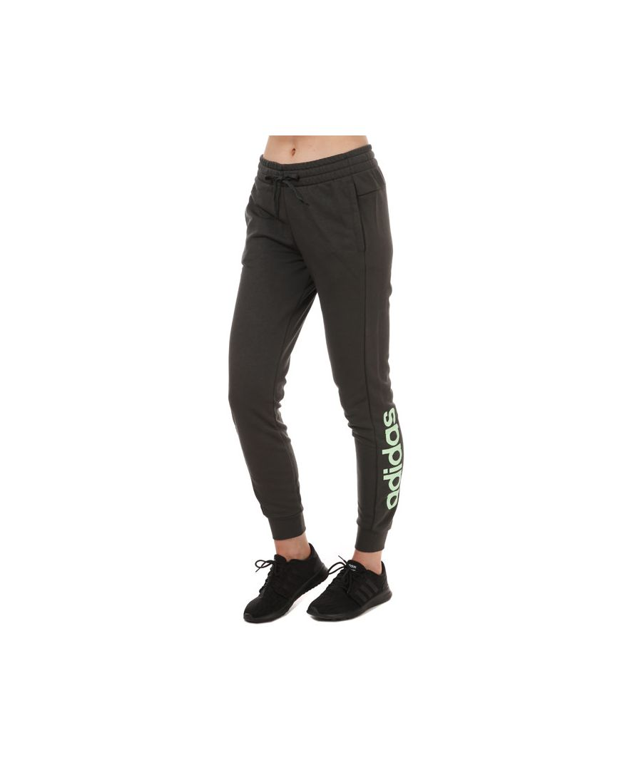 Image for Women's adidas Essentials Linear Pants olive 4-6in olive