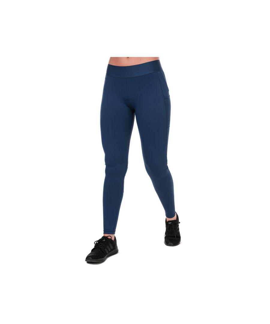 Image for Women's adidas Alphaskin Long Leggings in Indigo