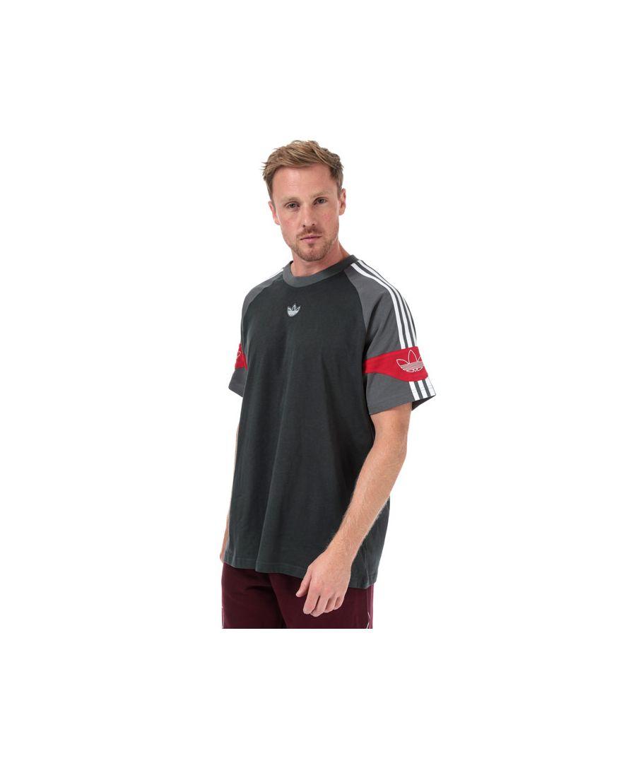 Image for Men's adidas Originals SPRT Football T-Shirt in Grey