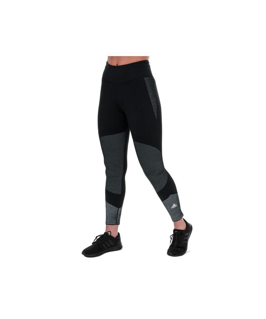 Image for Women's adidas 25/7 Primeknit Leggings in Black-White