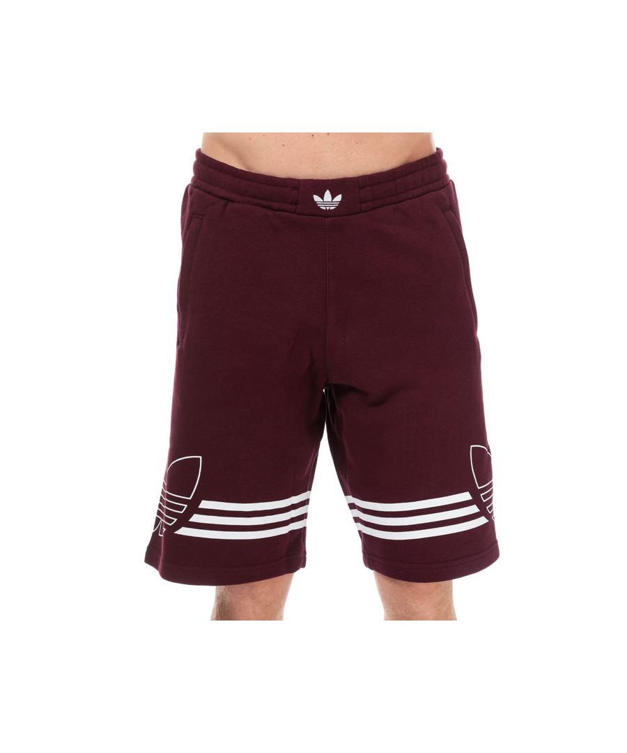 Image for Men's adidas Originals Outline Shorts in Red
