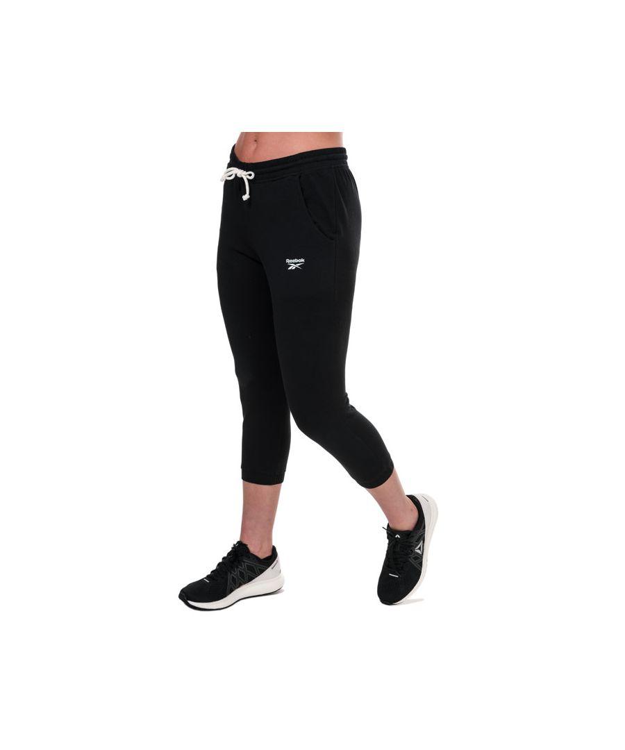 Image for Women's Reebok Training Essentials Capri Pants in Black