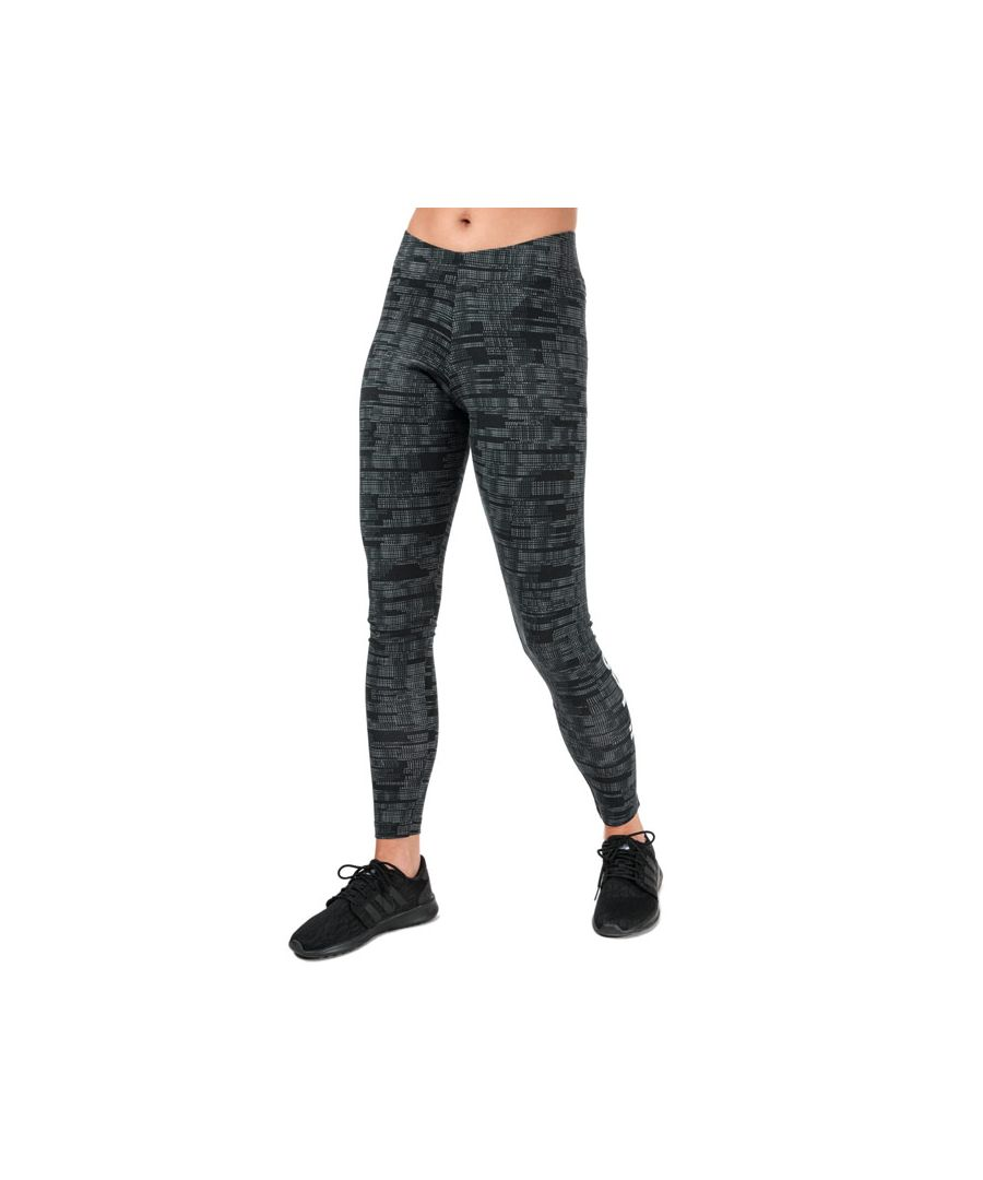 Image for Women's adidas Essentials Allover Print Tights in Black