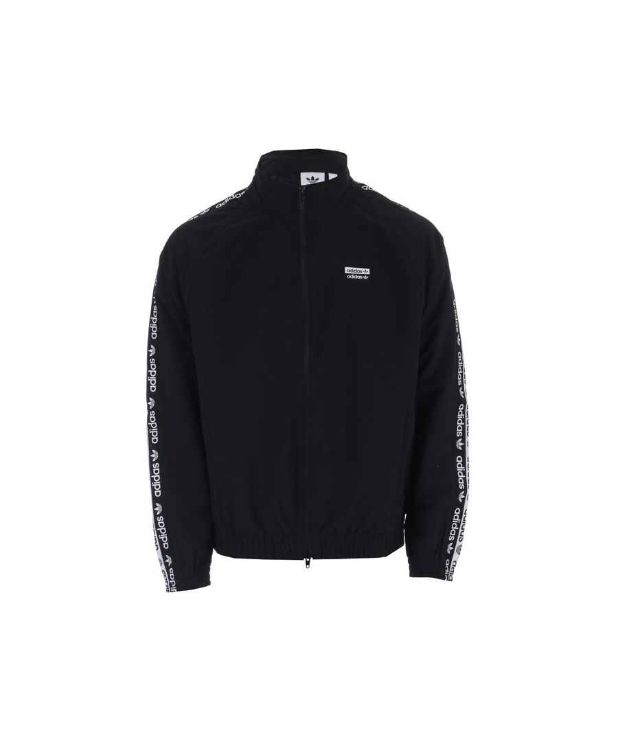 Image for Men's adidas Originals R.Y.V. Track Jacket in Black
