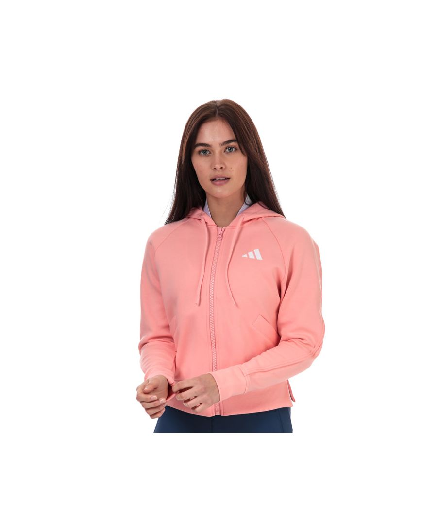 Image for Women's adidas Ribbed Hoody in Pink