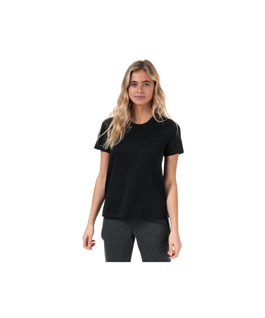 Image for Women's adidas Go-To T-Shirt in Black-White