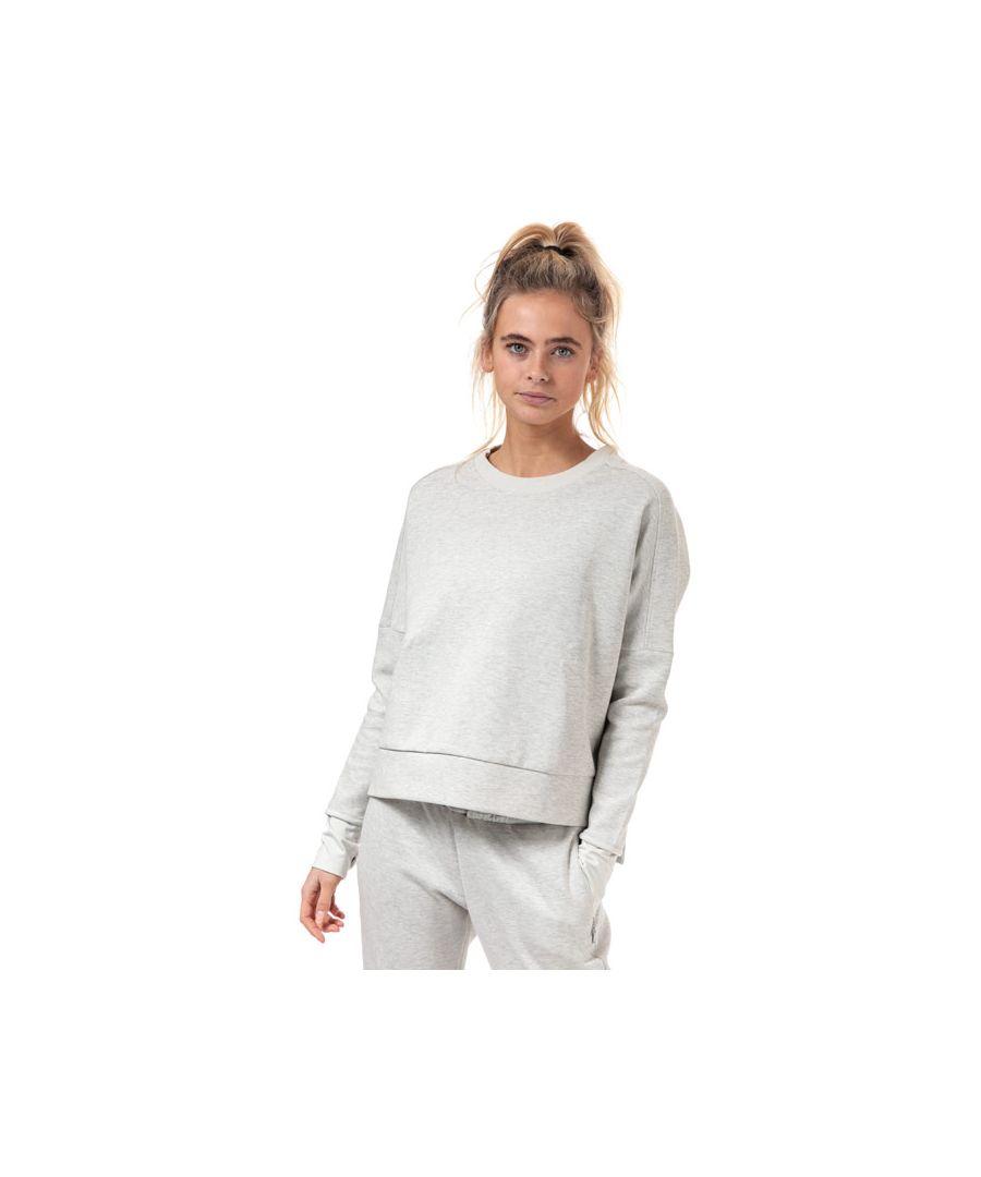 Image for Women's adidas Must Haves Versatility Crew Sweatshirt in Grey Marl