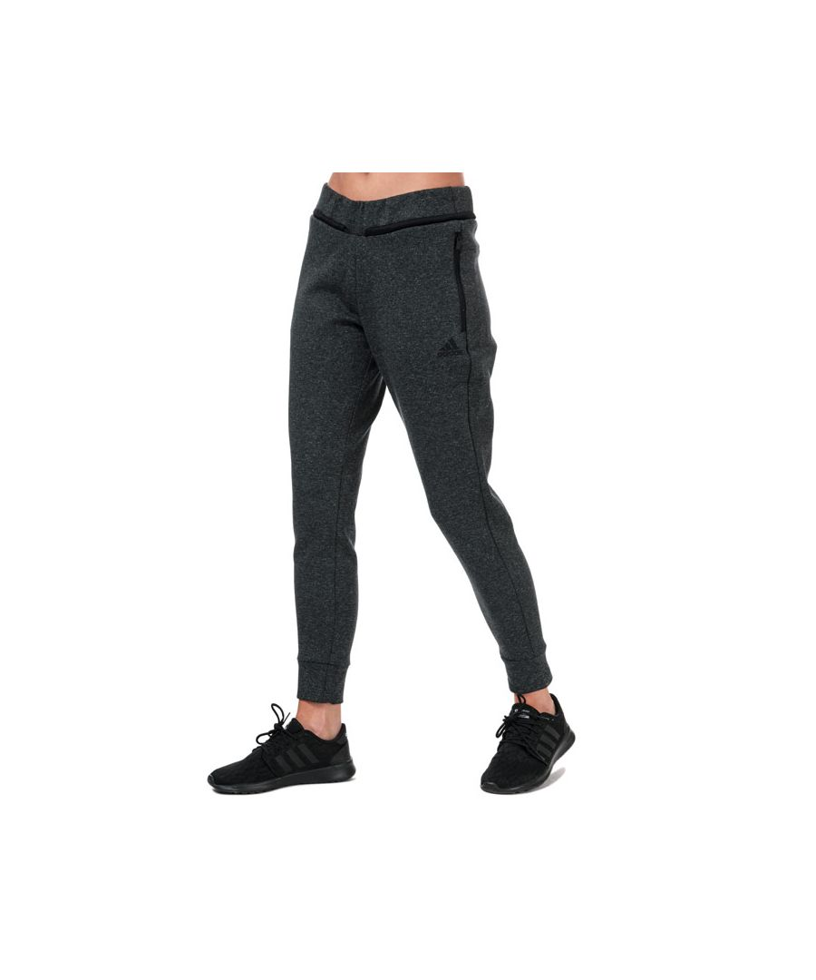 Image for Women's adidas Must Haves Versatility Tracksuit Bottoms in Black Marl