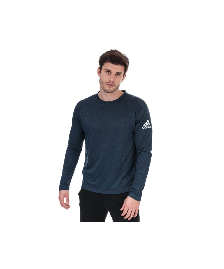 Image for Men's adidas Freelift Sport Heather BOS T-Shirt in Indigo