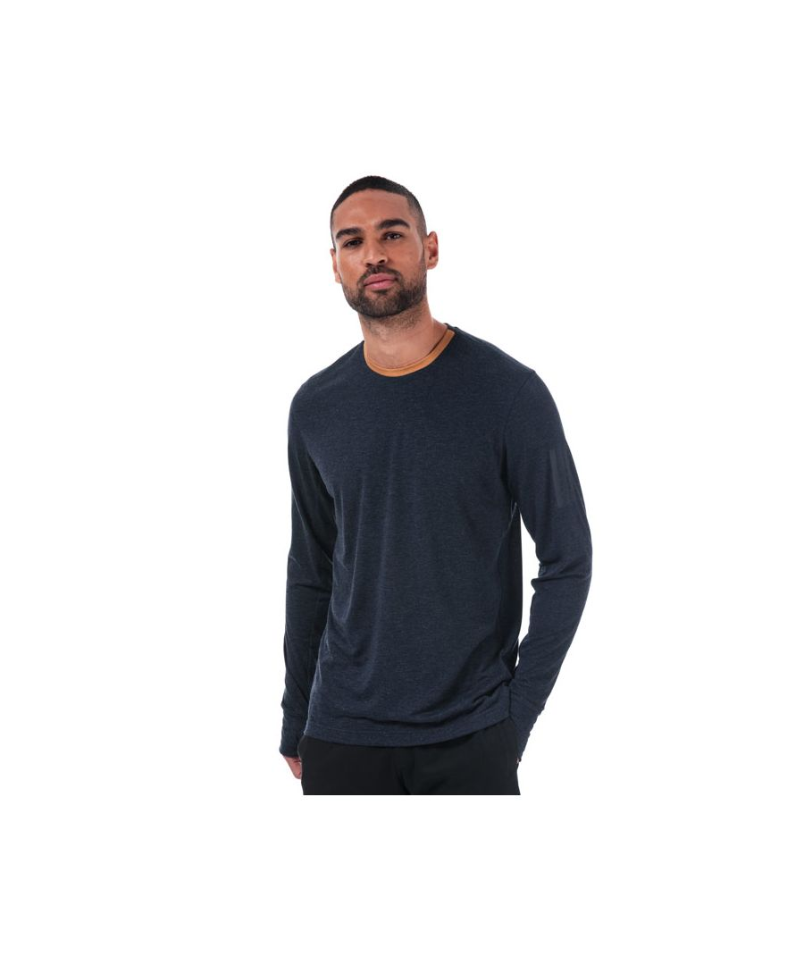 Image for Men's adidas X Universal Works Long Sleeve T-Shirt in Navy