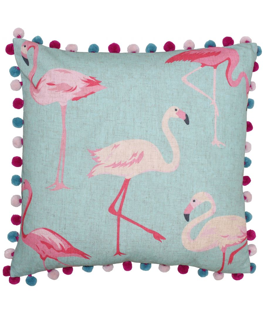 Image for Flamingo 50X50 Poly Cushion Deb