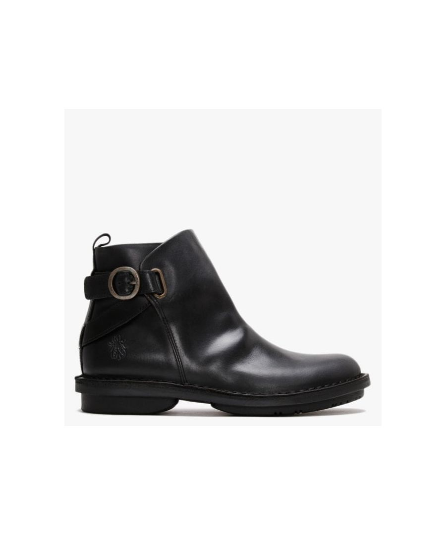 Image for Fly London Fico Leather Ankle Boots