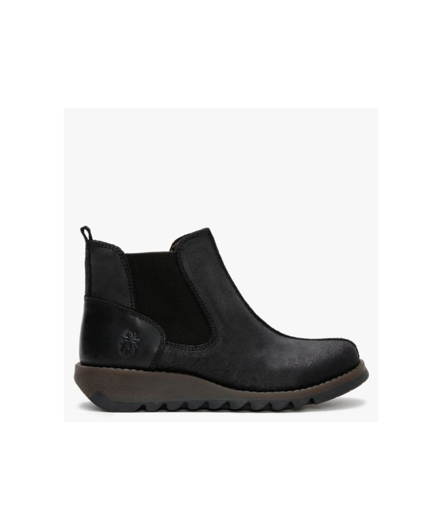 Image for Fly London Sebe Leather Chelsea Boots