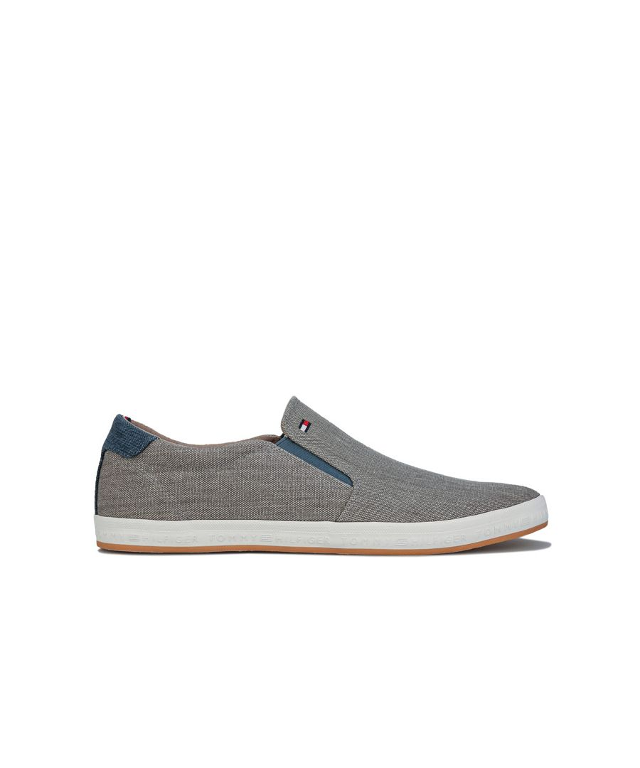 Image for Men's Tommy Hilfiger Slip On Pumps in Grey