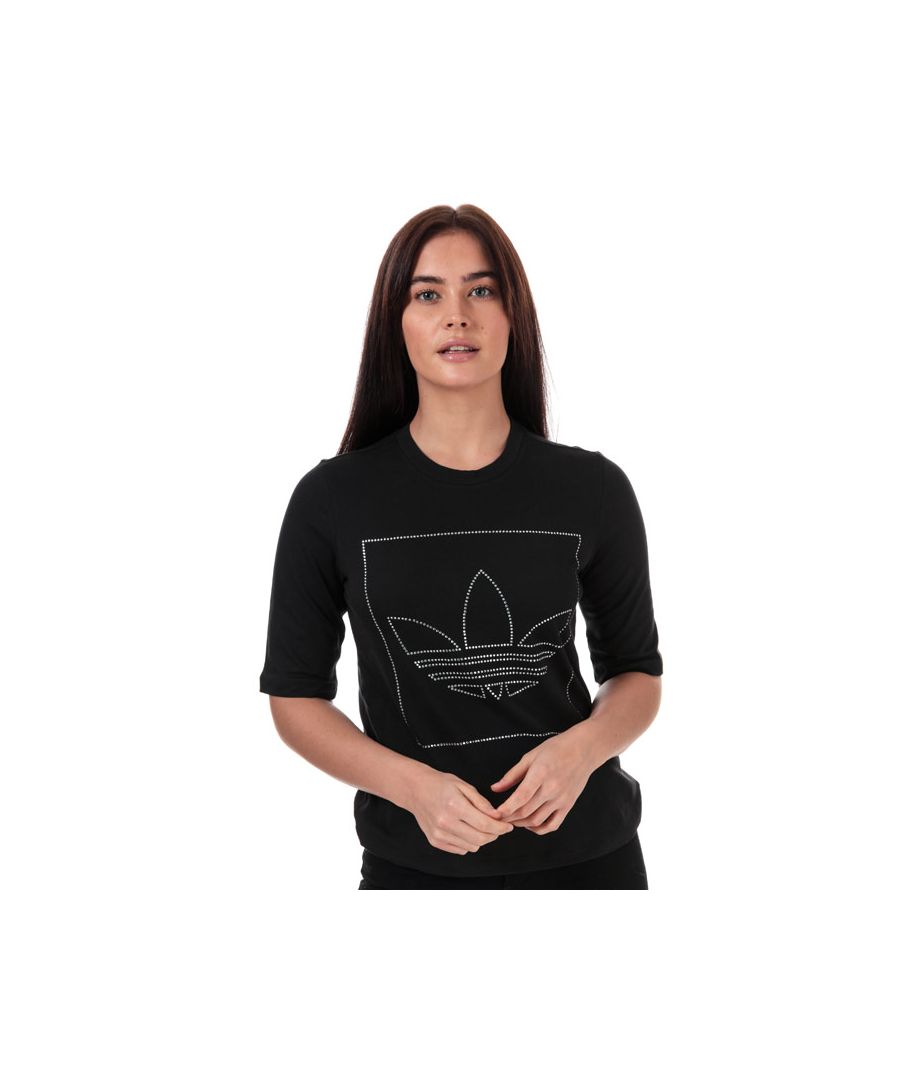 Image for Women's adidas Originals T-Shirt in Black