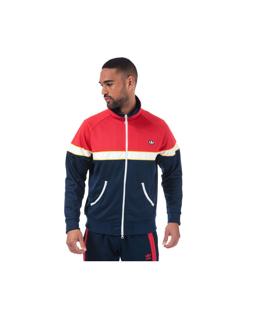 Image for Men's adidas Originals Track Top in Indigo