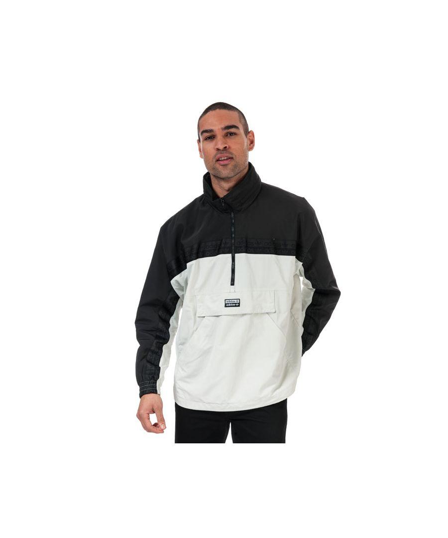 Image for Men's adidas Originals R.Y.V. Track Top in Grey black