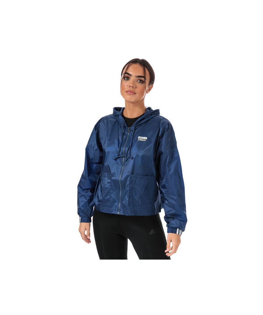 Image for Women's adidas Originals Windbreaker Jacket in Indigo