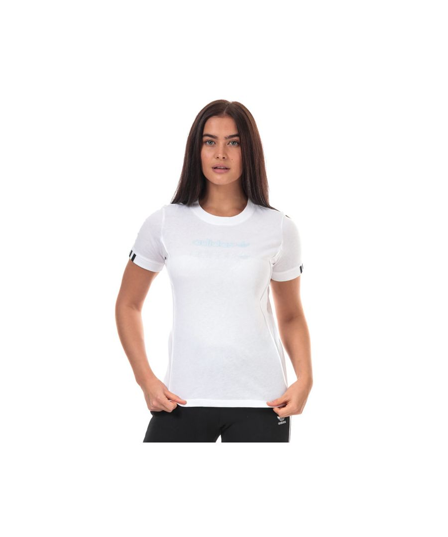 Image for Women's adidas Originals T-Shirt in White