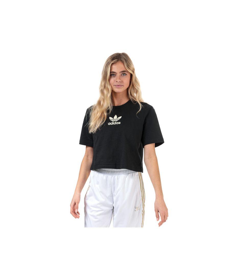 Image for Women's adidas Originals Premium T-Shirt in Black
