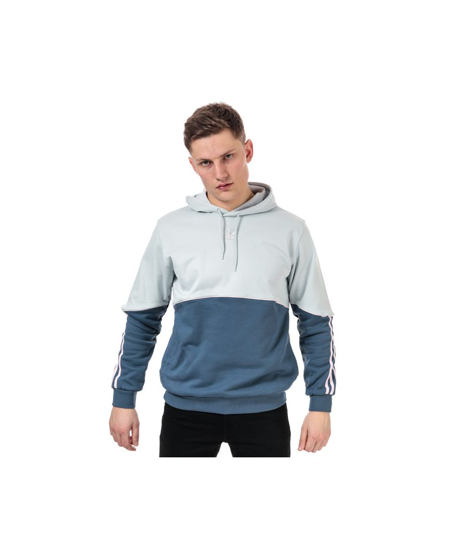 Image for Men's adidas Originals Outline Hoody in Light Grey