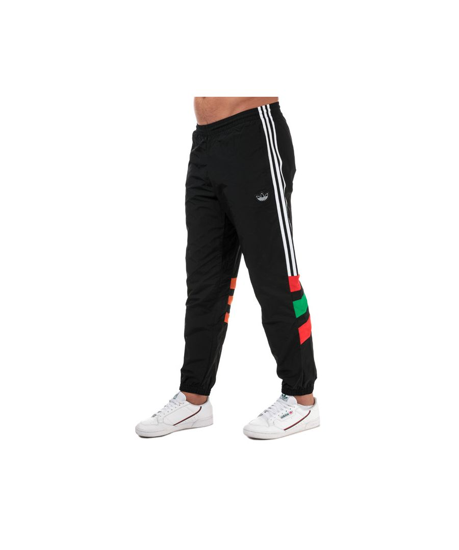 Image for Men's adidas Originals Balanta 96 Tracksuit Bottoms in Black