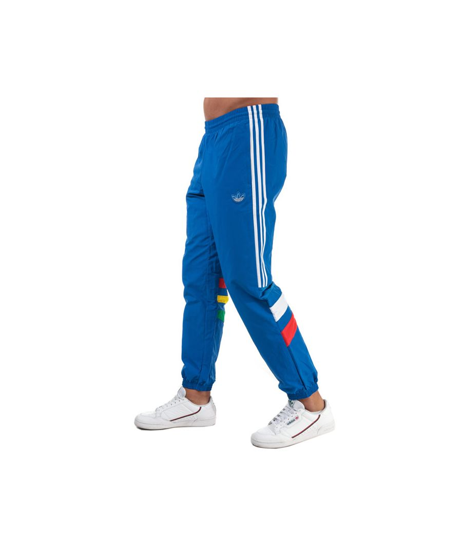Image for Men's adidas Originals Balanta 96 Tracksuit Bottoms in Blue