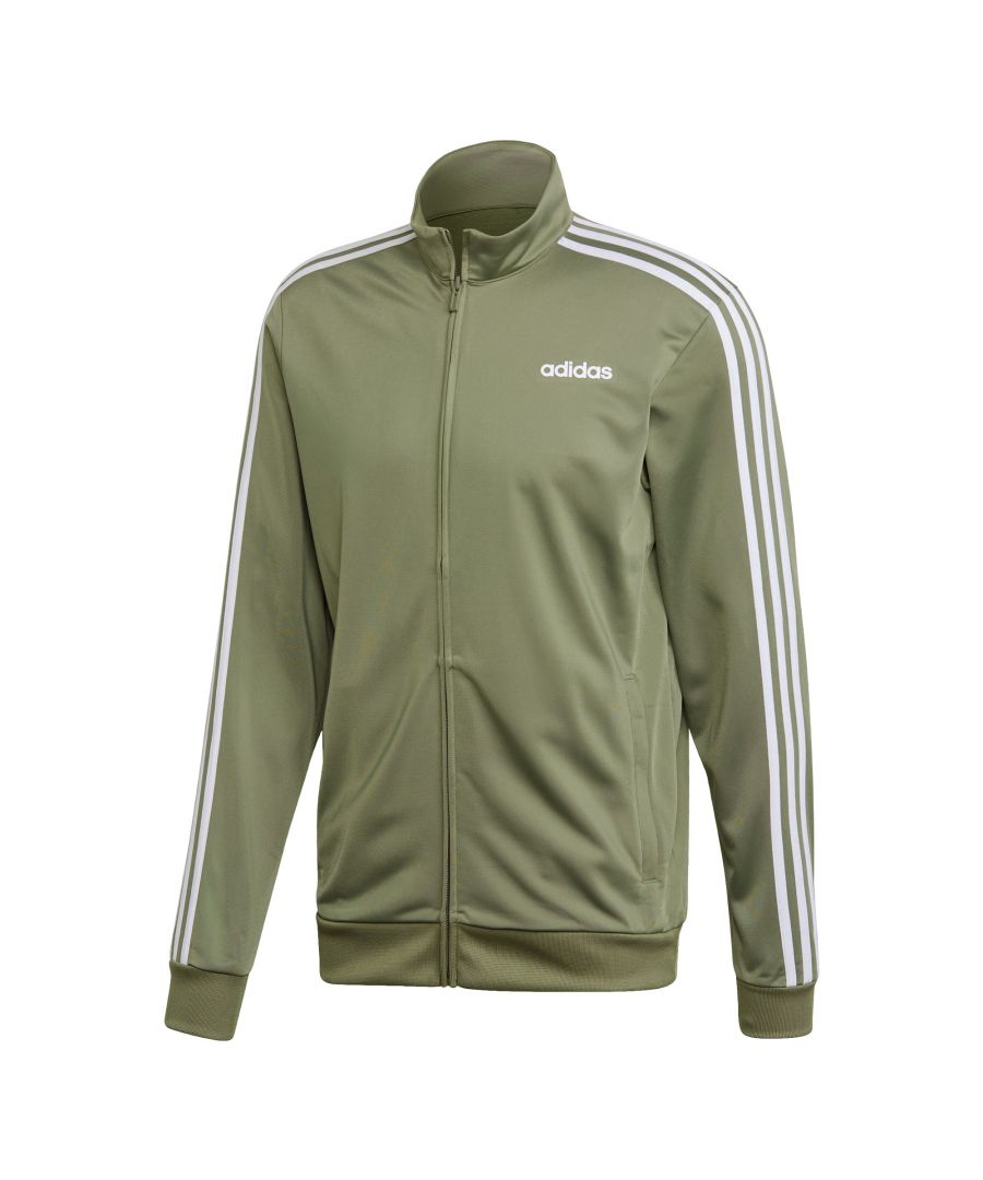 Image for adidas Essentials 3-Stripe Mens Track Top Green