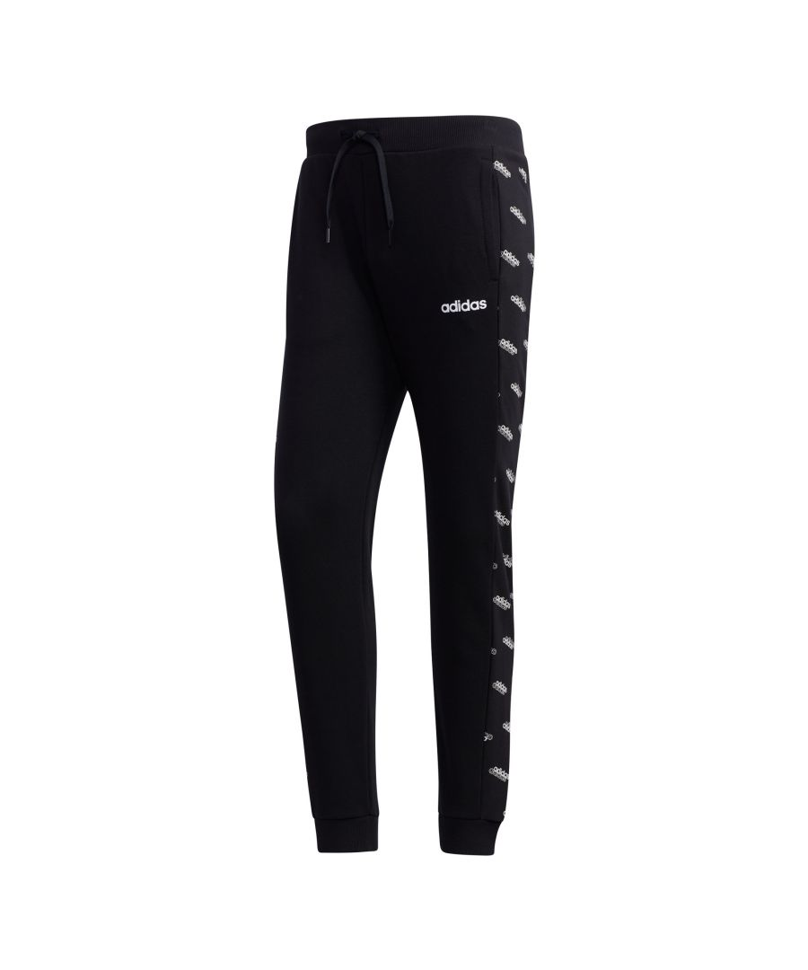 Image for adidas Favourites Track Mens Jogging Pant Black/White