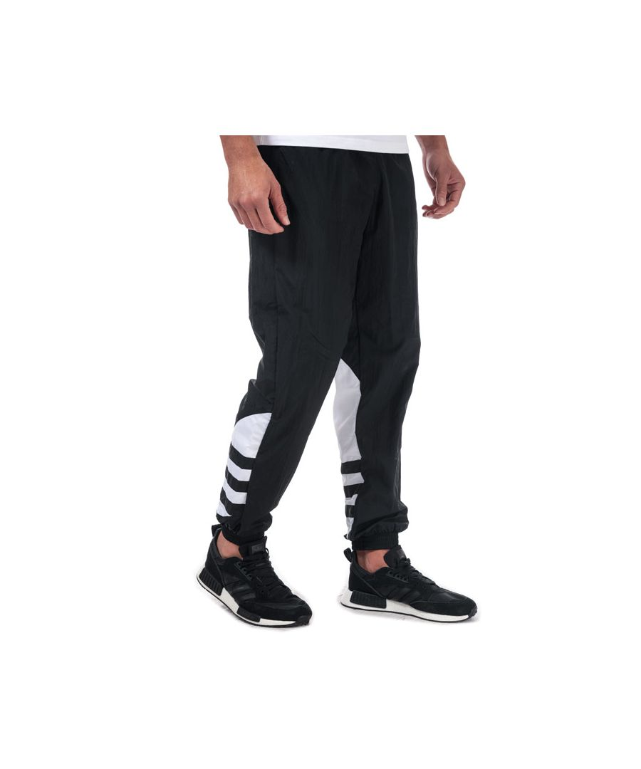 Image for Men's adidas Originals Big Trefoil Tracksuit Bottoms in Black