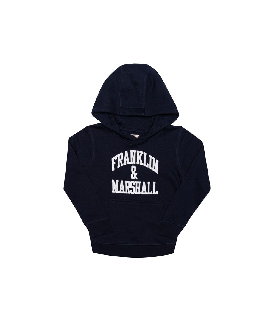 Image for Boy's Franklin And Marshall Infant F and M Hoody in Navy