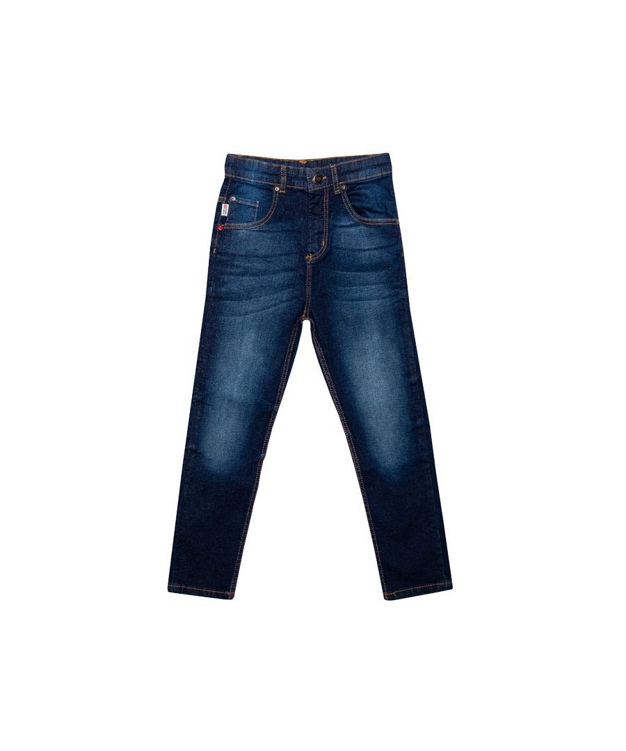 Image for Boy's Franklin And Marshall Junior Carrot Fit Jeans in Denim
