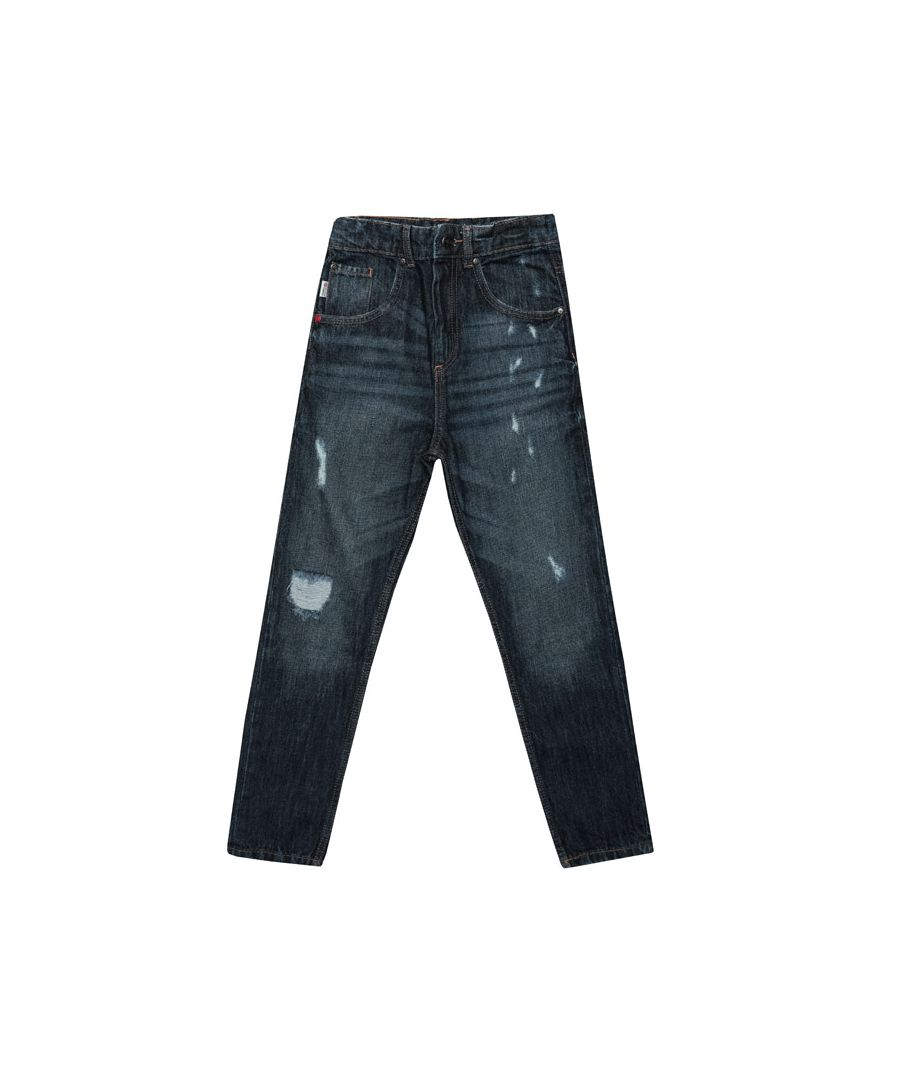 Image for Boy's Franklin And Marshall Infant Carrot Fit Jeans in Denim