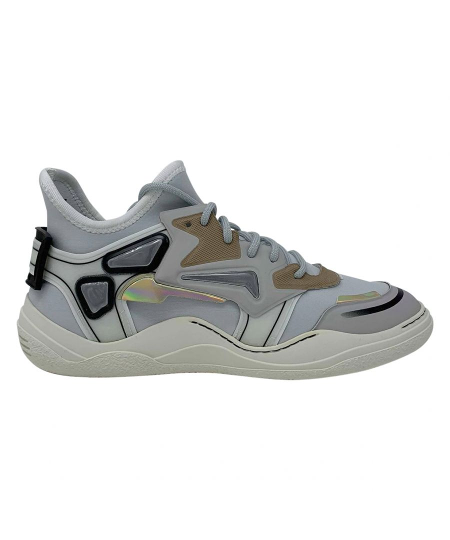 Image for Lanvin Mid Top Neoprene Diving Sneaker FM-SKDMIN-NEOP-A18 Mens Trainers