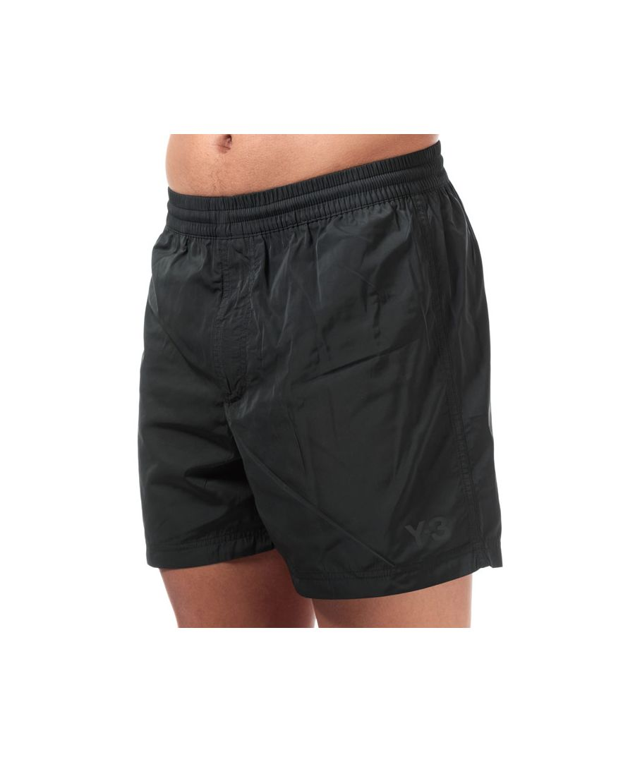 Image for Men's Y-3 Classic Logo Swim Shorts in Black