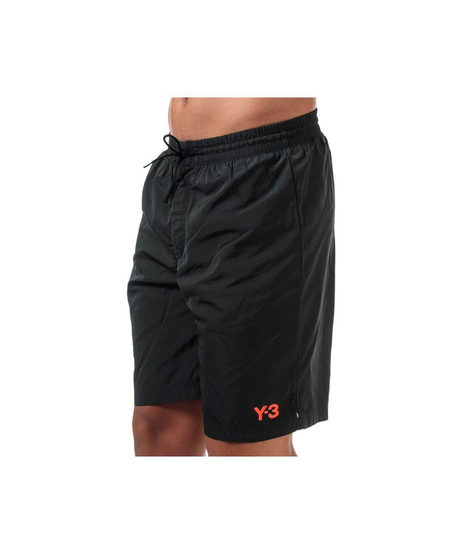 Image for Men's Y-3 Classic Logo Swim Shorts in Black